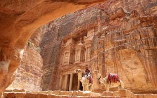 Petra is one of Jordan's most famous sights